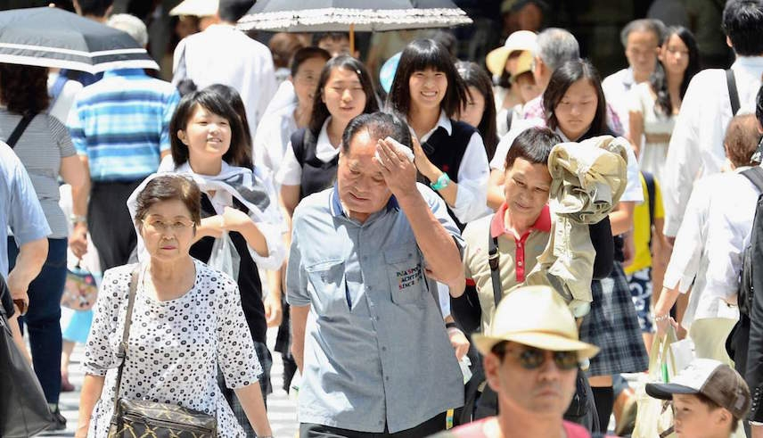 Deadly East Asian heat wave spreads into Japan, Korea and China